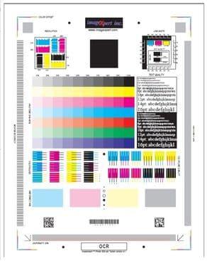 Тестовый лист проверки качества печати принтера adutor.ru