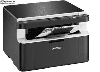 Многофункциональное устройство Brother DCP-1510R A4, 20 cтр/мин, GDI, USB, лоток 150 л купить в новосибирске. adutor.ru