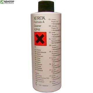 043P00048 Очиститель универсальный (формула А) Xerox (236мл.) (O) Formula A Cleaner 43P48 купить в новосибирске. adutor.ru