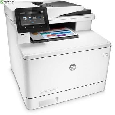 HP Color LaserJet MFP M477fdw (p/s/c/f,A4,600dpi,27(27)ppm,2 trays 50+250,Duplex,ADF 50 sheets,Touch) купить в новосибирске. adutor.ru