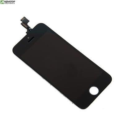 15C-0001 Дисплей для в сборе с тачскрином Apple iPhone 5С (Чёрный) купить в новосибирске. adutor.ru