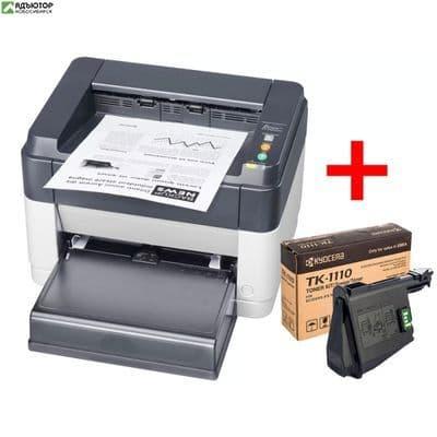 Комплект принтер Kyocera FS-1040 + картридж TK-1110 купить в новосибирске. adutor.ru
