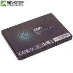 """Твердотельный накопитель (SSD) Silicon Power 240Gb Slim S55, 2.5"""", SATA3 (SP240GBSS3S55S25) купить в новосибирске. adutor.ru"""