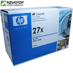 Картридж HP LJ 4000/4050 (Оригинал) C4127X, (10 000 стр.) купить в новосибирске. adutor.ru